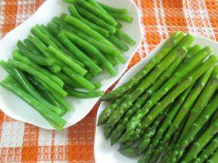 Asparagus is most nutritious cooked!