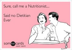 Dietitians vs nutritionist