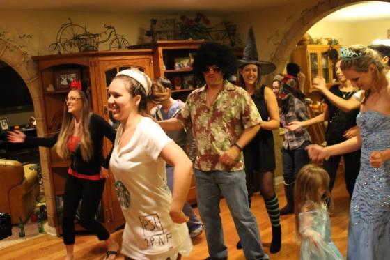 If you come to my party you WILL zumba!
